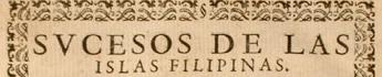 Sucesos de Filipinas